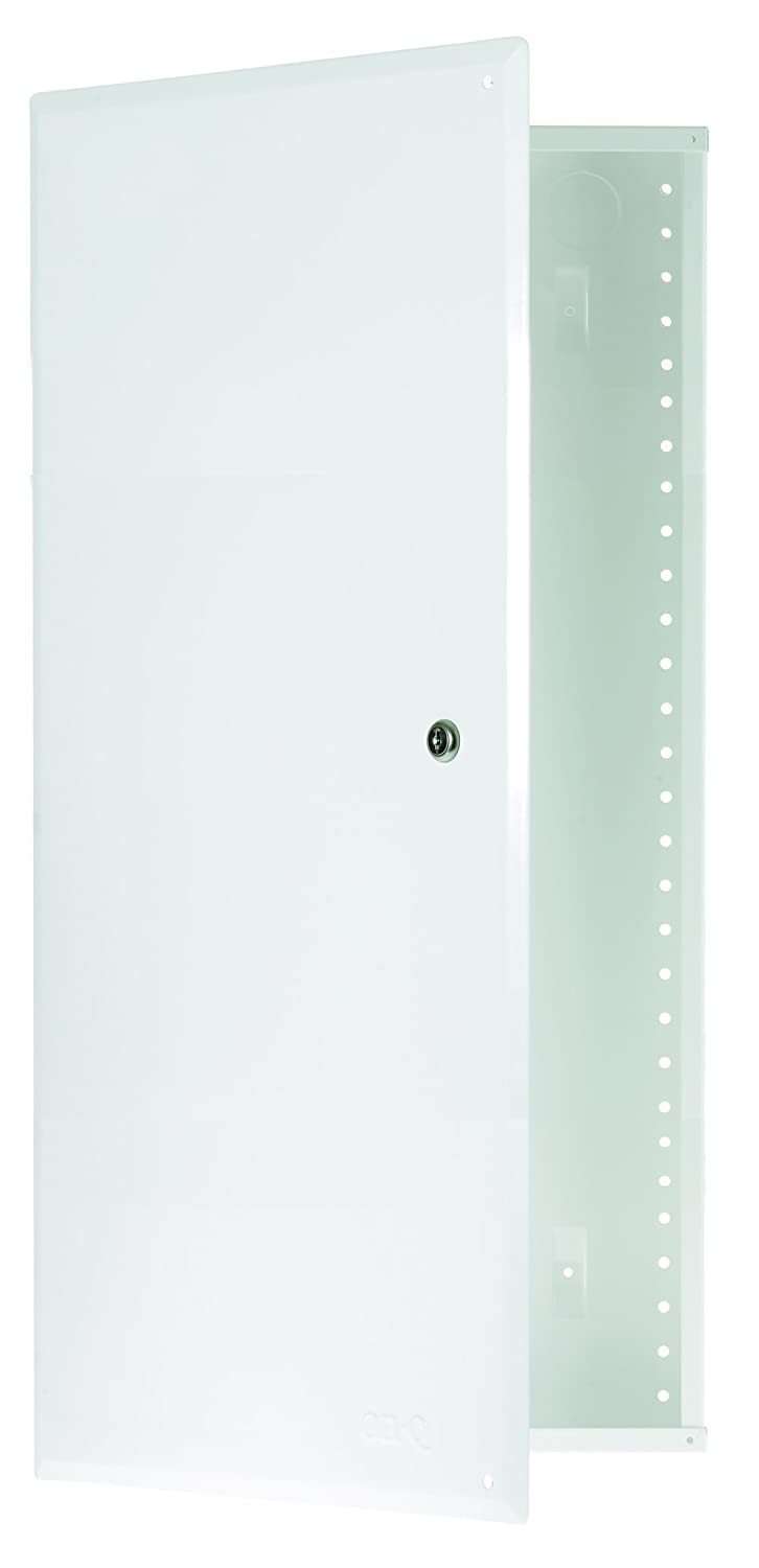 Legrand On Q En2850 28inch Enclosure With Hinged Door Electrical Video And Networking Panel Located Inside Closet Creates Central Outlet Boxes