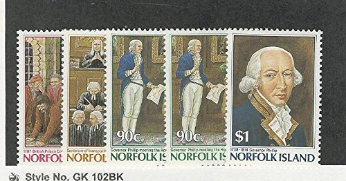 393 Mint (Norfolk Island, Postage Stamp, 392-396 Mint NH, 1986)