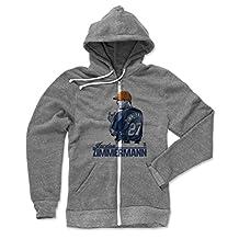 Jordan Zimmermann Grunge B Detroit Men's Zip Hoodie