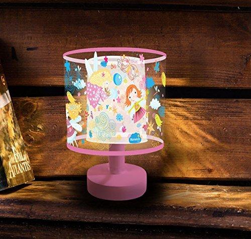 Night Light for Kids, Marmelada Lights, 3D Mini Size Lampshade Story Series Flying Fairy, LED Bedside Kids, Baby, Children Night Lamp Bookshelf, Tabletop, Battery operated 2 months runtime.