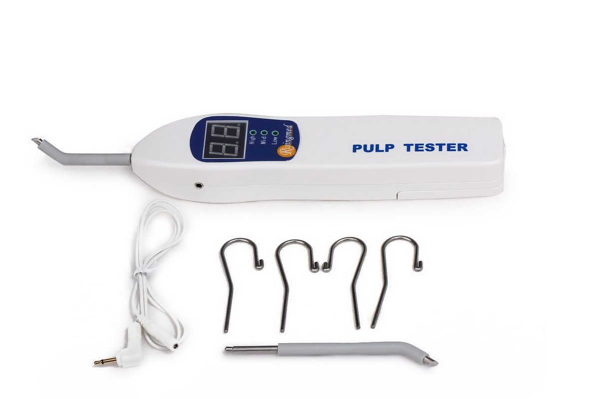 Pulp Tester,Fencia Dental Pulp Tester Teeth Nerve Vitality Detector Endodontic Measuring Tools