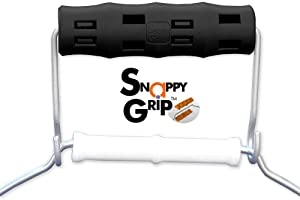 BLACK Bucket Wrangler by Snappy Grip - Ergonomic Handle Hook Attaches Without Removing Original Bucket Handle For Ease & Comfort! (1)