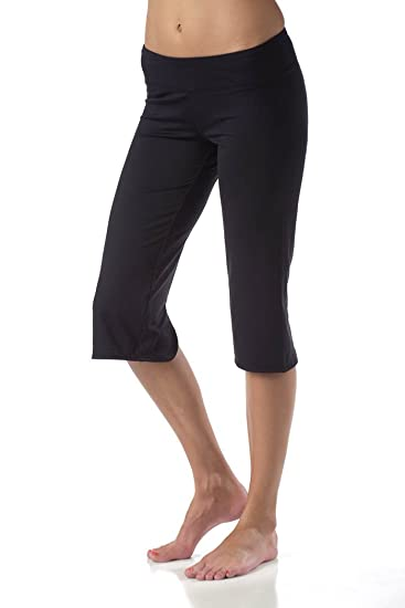 Amazon.com : Soybu Women's Lotus Yoga Capri Pants : Athletic Pants ...