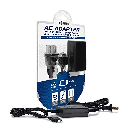 Video Games : Tomee AC Adapter for PS Vita