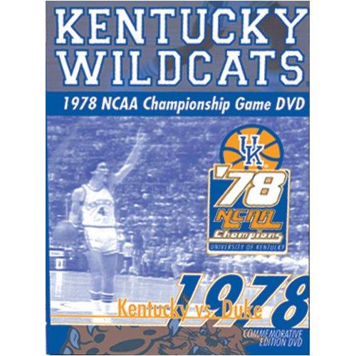 Kentucky Wildcats vs. Duke Blue Devils : 1978 - Duke Blue Devils Dvd