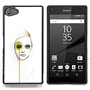 SKCASE Center / Funda Carcasa protectora - Arte pop Mujer;;;;;;;; - Sony Xperia Z5 Compact Z5 Mini (Not for Normal Z5)