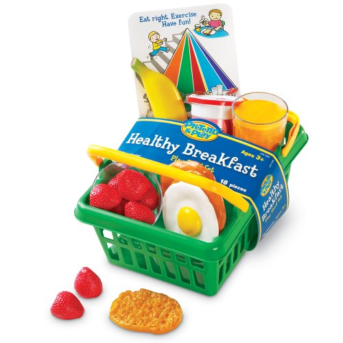 Learning Resources : Pretend And Play Healthy Breakfast Set
