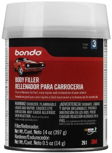 Bondo 261 Lightweight Filler Pint Can - 14 oz.