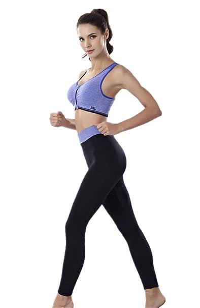 YeeHoo Mujer Tracksuit Yoga Fitness Seamless Racerback Bra + ...