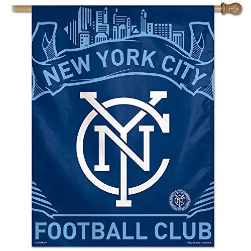 SOCCER New York City FC Vertical Flag, 27