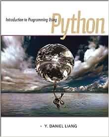 introduction to programming using python daniel liang pdf