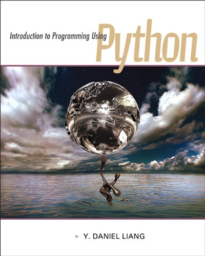 Book cover of Introduction to Programming Using Python by Y. Daniel Liang
