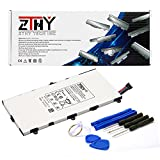 PC Hardware : ZTHY T4000E Replacement Tablet Pc Battery for Samsung Galaxy Tab 3 7.0 SM-T210R T210 T211 T217 T4000E kids T2105 T2105 P3200 1588-7285 3.7V 4000mAh With tools