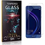 The Grafu Screen Protector for Huawei Honor 6A, 9H Hardness, High Transparency, Anti Scratch Tempered Glass Screen Protector Compatible with Huawei Honor 6A, 1 Pack