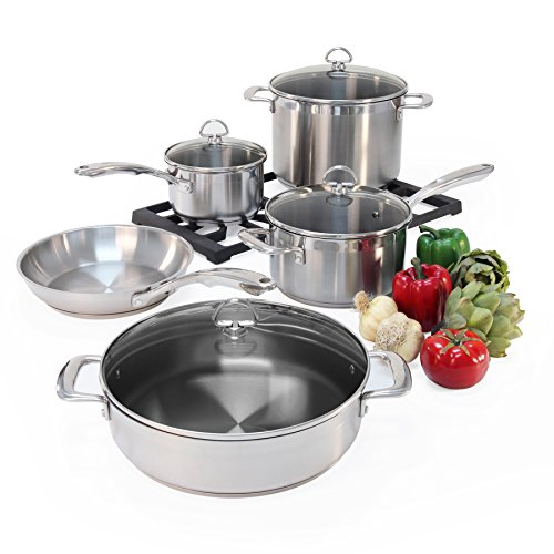 Buy cookware for glass top stoves 2017