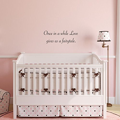 Wall Decal Fairytale Quote