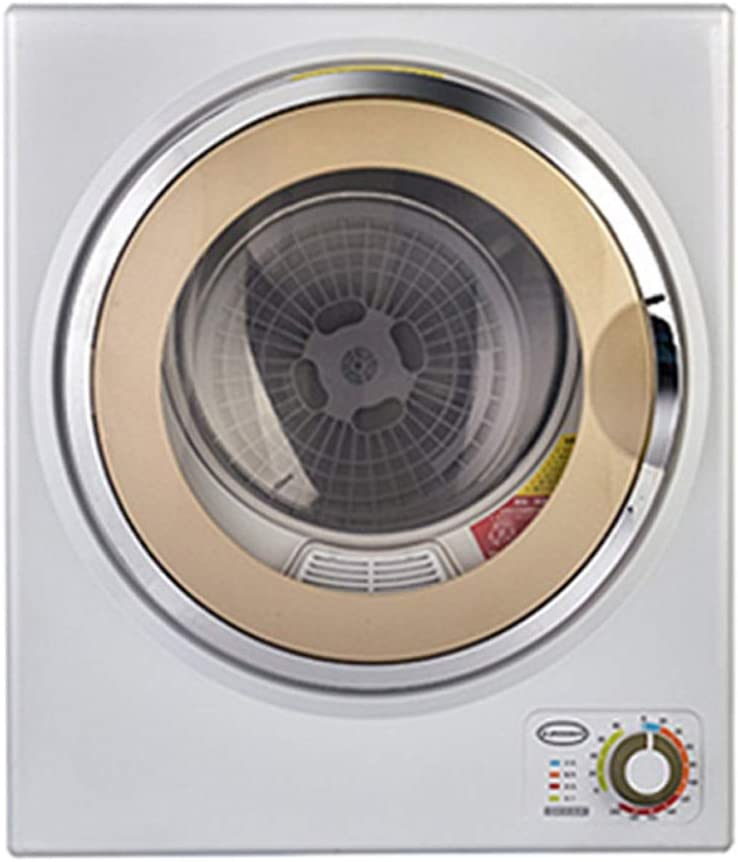 Secadora doméstica pequeña pequeña Alta Capacidad Ropa de protección UV esterilización Secado rápido (Color : Oro)