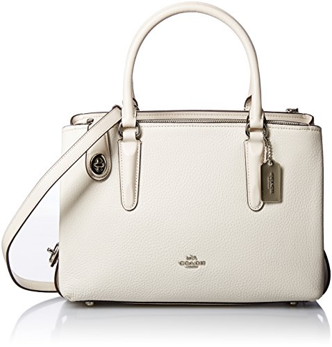 Brooklyn Carryall Pebbled Sv Womens 28 Chalk COACH a6znZqw