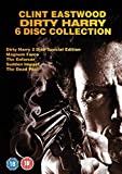 Dirty Harry Complete Movies Film Collection [6 Discs] DVD Boxset: Dirty Harry / Magnum Force / Enforcer / Sudden Impact / Dead Pool + Extras