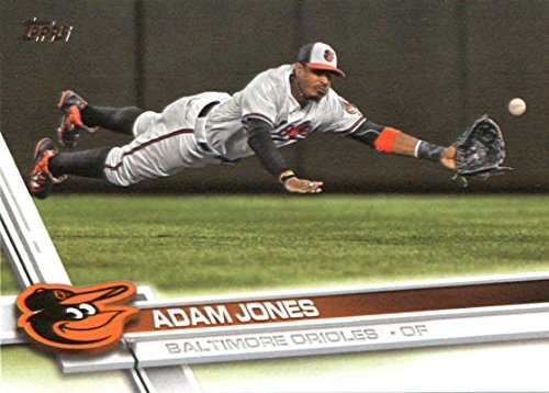 b54277b62 Amazon.com  2017 Topps Series 2  495 Adam Jones Baltimore Orioles ...
