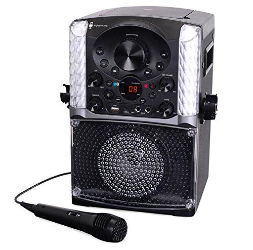 Singing Machine SML625BTBK Bluetooth CD+G Karaoke System Black by Singing Machine (Image #5)
