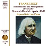 Liszt: Transcriptions of pieces by Handel, Gounod, Raff and Spohr