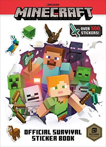 Minecraft Official Survival Sticker Book (Minecraft) (Minecraft Stickers)