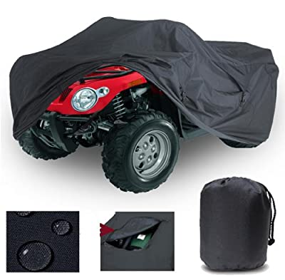 GREAT QUALITY, HEAVY-DUTY, ATV COVER QUAD 4 WHEELER COVER fits Yamaha Wolverine 350 1999- 2009