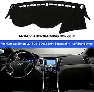 Dash Mat Dash Cover Mat For Hyundai Sonata 2010 2011 2012 2013 Dashboard Mat 1x