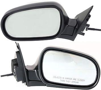 New Set of 2 Power Operated Door Mirrors For 4-Door Sedan Honda Accord 1998-2002