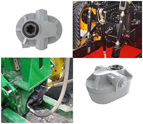 HONYTA 17GPM Hydraulic Pump for Tractors and Trucks Hydraulic PTO Pump 540 RPM 2250PSI Hydraulic Power Take Off pump 6 Teeth SAE16 Inlet And SAE12 Outlet