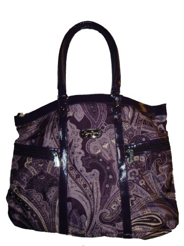 Jessica Simpson Women's Luggage Spoonful of Sugar Laptop, Large, Purple by Fancy Jessica Simpson