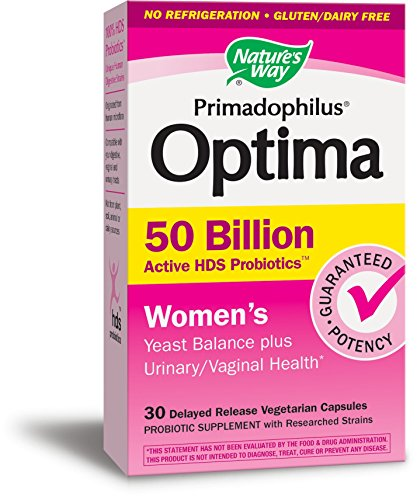 Nature's Way Primadophilus Optima Women's 50 Billion, 30 Count - Readers Health Digest