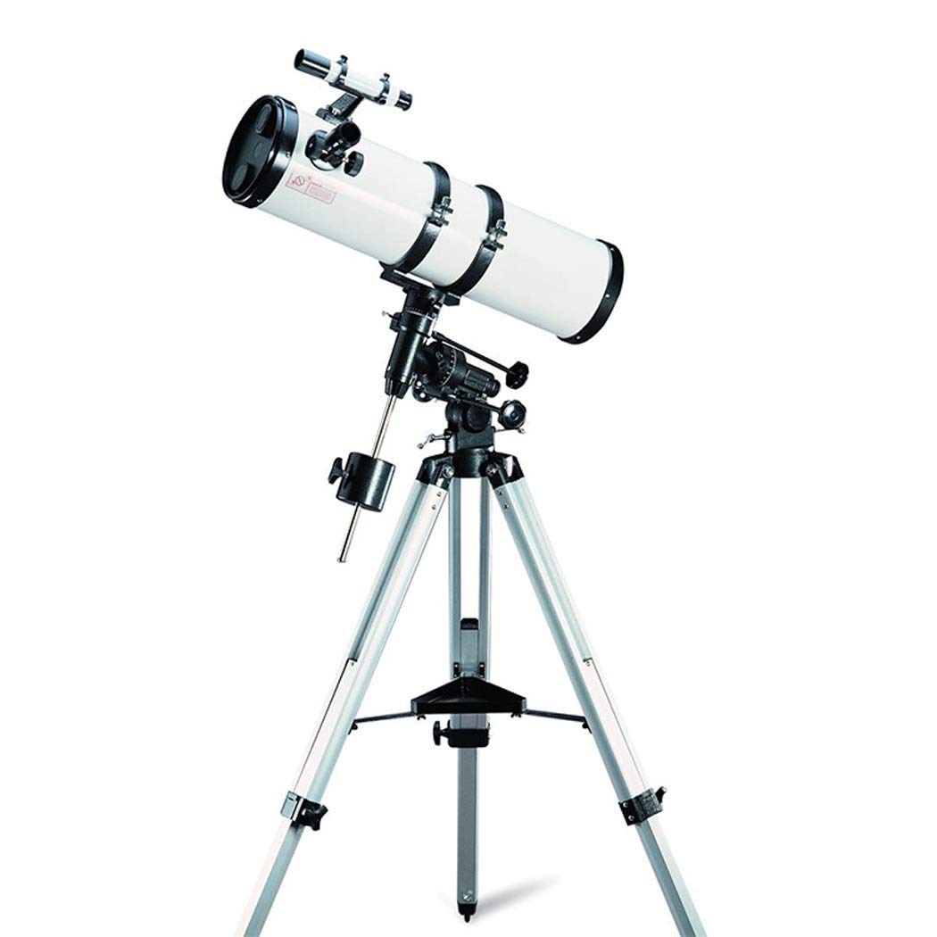 GGPUS Telescope Refracting Telescope Adjustable Portable Travel Telescopes for Astronomy, Focal Length 700Mm, Limit Star 11.9, Collecting Power 204X with Equatorial Mount by GGPUS