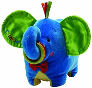 Gund Baby Fun Circus Jiffy The Elephant Plush Toy (Discontinued by Manufacturer)