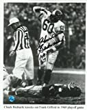 "Autographed Chuck Bednarik 8x10 Picture - with""HOF 67"" Inscription - Autographed NFL Photos"