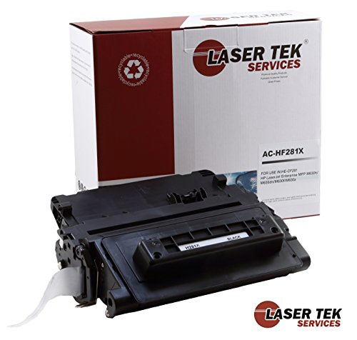 Laser Tek Services Compatible Toner Cartridge Replacement for High Yield HP 81X CF281X (Black, 1-Pack) ()