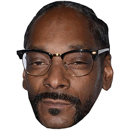 Snoop Dogg Celebrity Mask, Card Face and Fancy Dress Mask ()