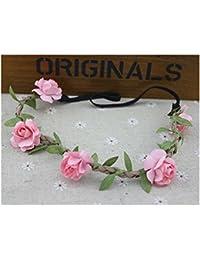 Seaside Beach Floral Crown Garland Halo Bridal Wreath Headband