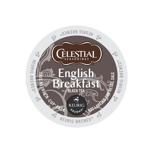 Celestial Seasonings English Breakfast Tea K-Cup (144 Count) (Breakfast English Celestial Seasonings)