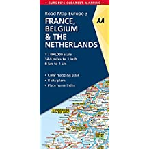 Road Map France, Belgium & The Netherlands