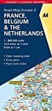 Road Map France, Belgium & The Netherlands (Road Map Europe)