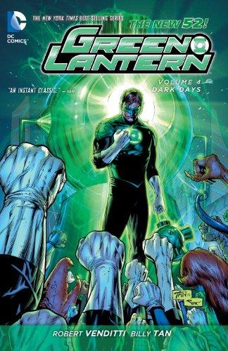 Green Four Lantern - Green Lantern Vol. 4: Dark Days (The New 52)