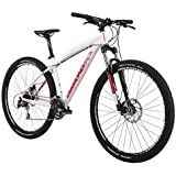 Diamondback Bicycles 2015 Overdrive Hard Tail Complete Mountain Bike, 16-Inch/Small, White