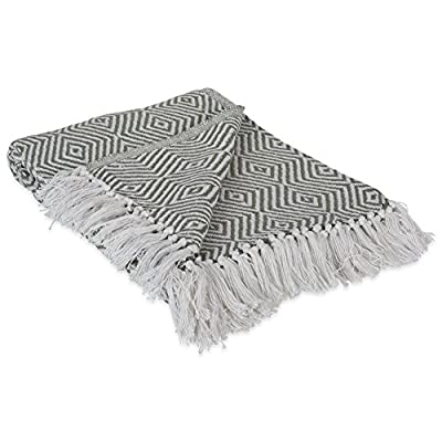 DII 100% Cotton Geometric Daimond Throw for Indoor/Outdoor Use Camping Bbq's Beaches Everyday Blanket -  - blankets-throws, bedroom-sheets-comforters, bedroom - 51BiYeRTUWL. SS400  -