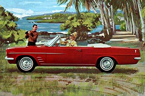 Pontiac Tempest Convertible (1963 Pontiac Tempest Lemans Convertible Factory Photo)