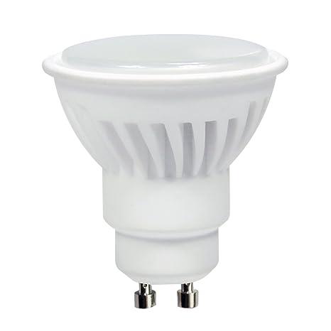 LightED Bombilla LED 40K GU10, 8 W, Blanco 50 x 58 mm