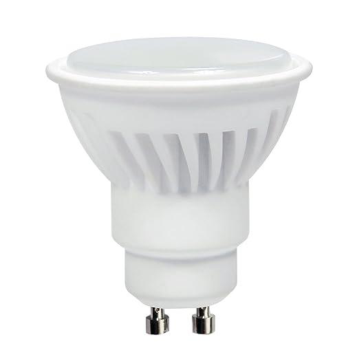 LightED SMD Bombilla LED 50K GU10, 8 W, Blanco, 50 x 58 mm ...