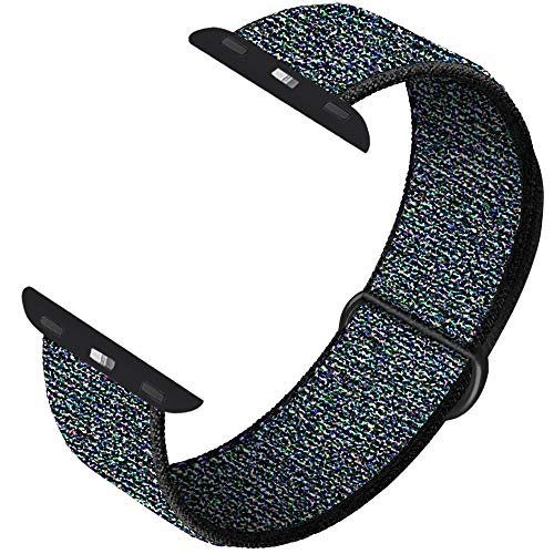 INTENY Sport Band Compatible with Apple Watch 42mm 44mm, Soft Sport Loop, Strap Replacement for iWatch Series 5, Series 4, Series 3, Series 2, Series 1 (Hyper Grape, 42mm 44mm) (Hyper Sport)