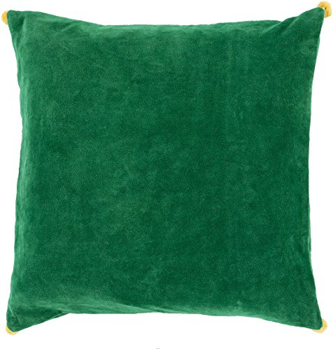 SURYA VP006-2222P Synthetic Fill Pillow, 22-Inch by 22-In...